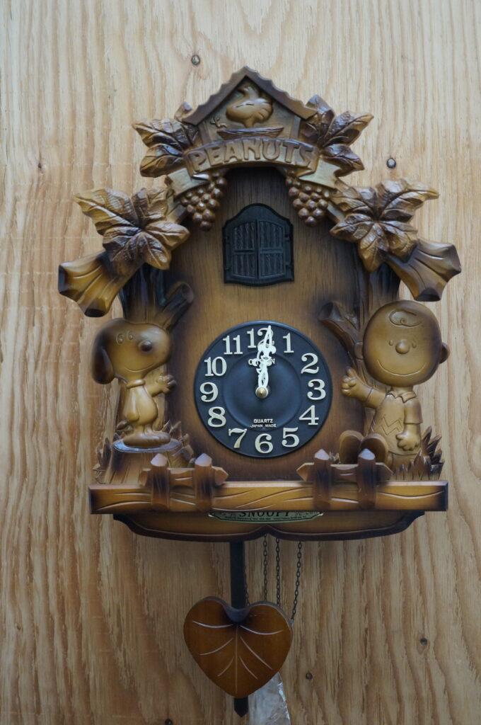 No.2716  スヌーピー鳩時計を修理しました