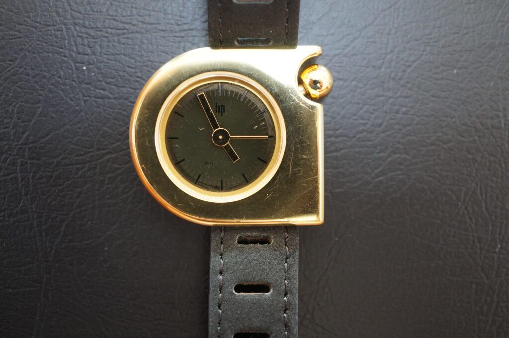 No.2714  LIP クオーツ式 腕時計を修理しました