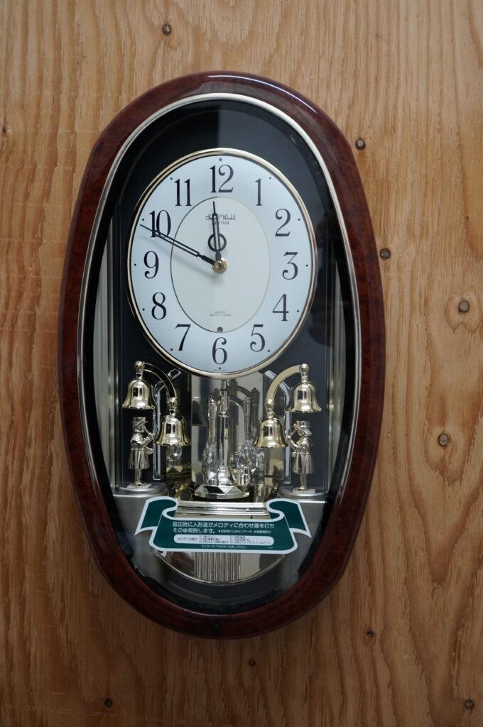 No.2733  CITIZEN (シチズン) クォーツ式  掛け時計を修理しました