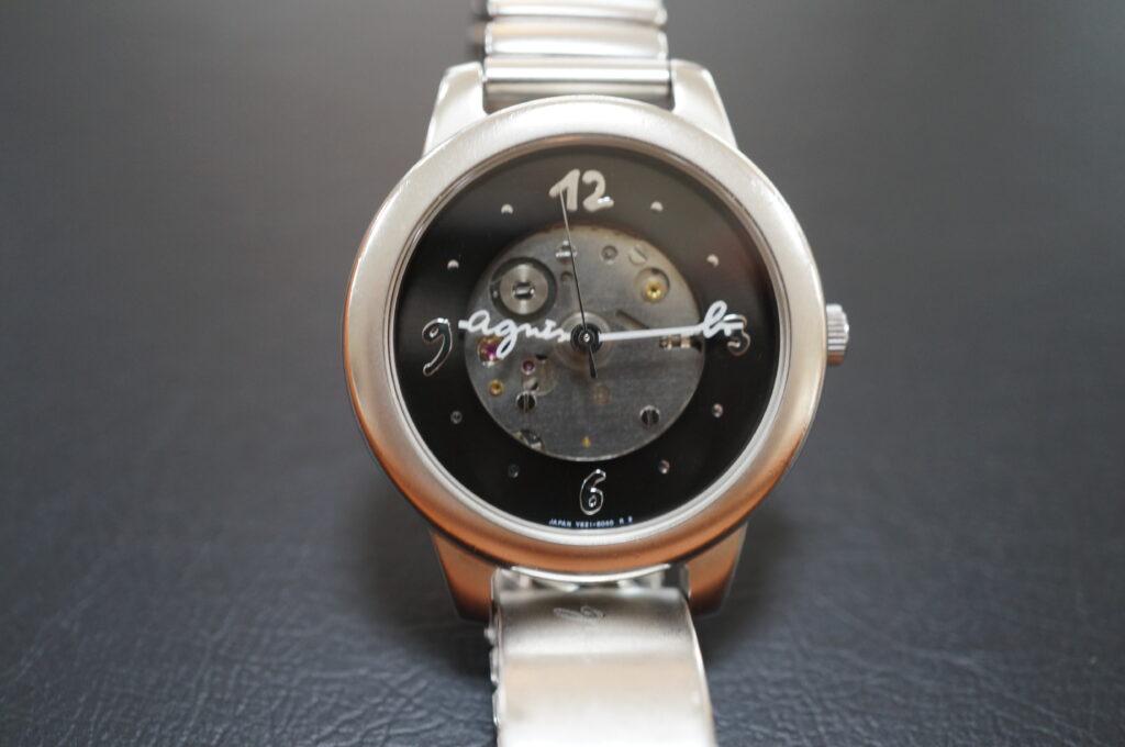 No.2732  アニエスベー クオーツ式 腕時計を修理しました