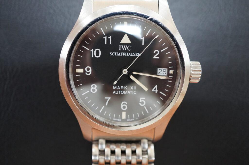 No.2738  IWC (インターナショナル・ウォtチ・カンパニー)自動巻き 腕時計を修理しました