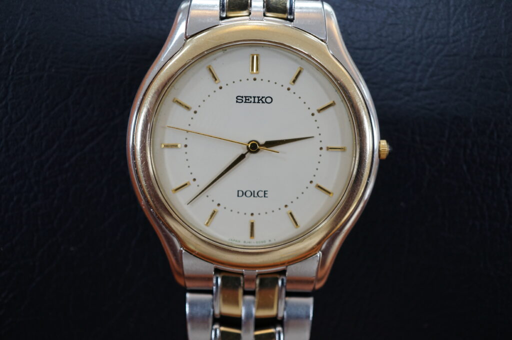 No.2740  SEIKO  DOLCE  (ドルチェ ) クオーツ式 腕時計を修理しました