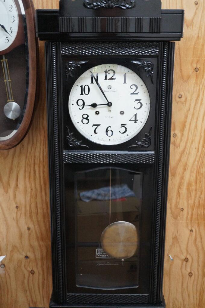 No.2751  アイチ ゼンマイ式 掛け時計を修理しました