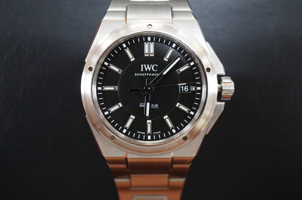 No.2752  IWC  (インターナショナル・ウォッチ・カンパニー) 自動巻き 腕時計を修理しました