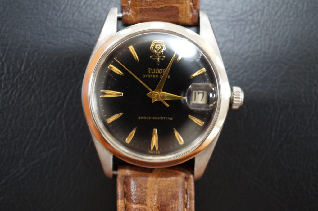 No.2753  TUDOR(チュードル)自動巻 腕時計を修理しました