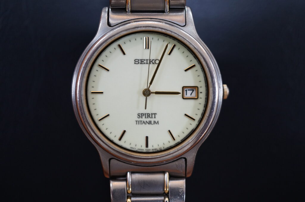 No.2755  SEIKO  SPIRIT  (スピリット ) クオーツ式 腕時計を修理しました