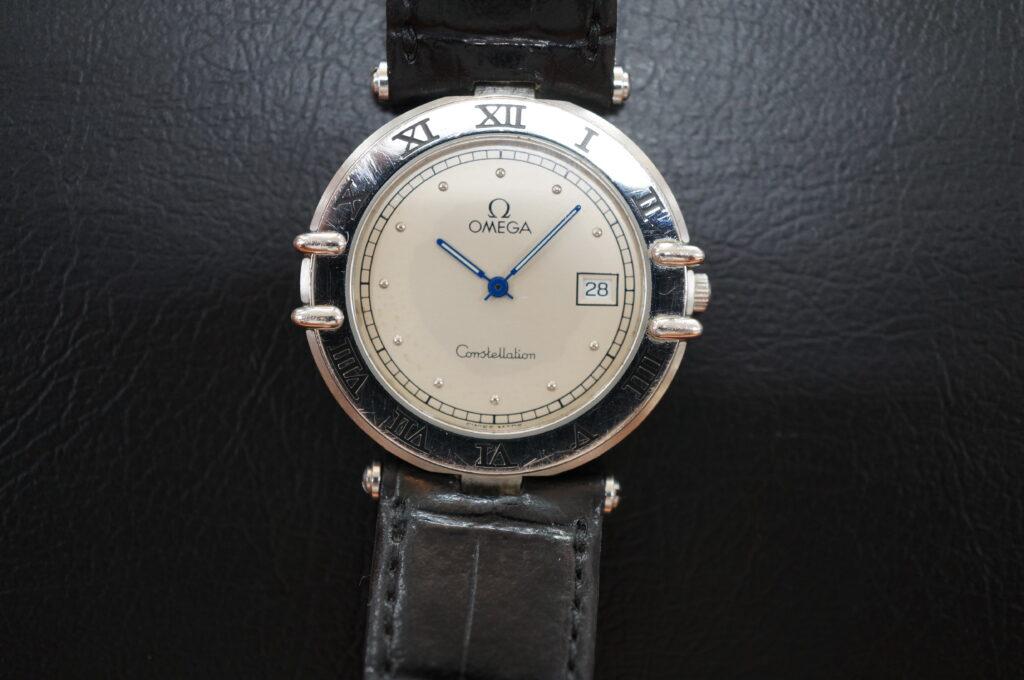 No.2758  OMEGA constellation (オメガ コンステーション) クォーツ式 腕時計を修理しました