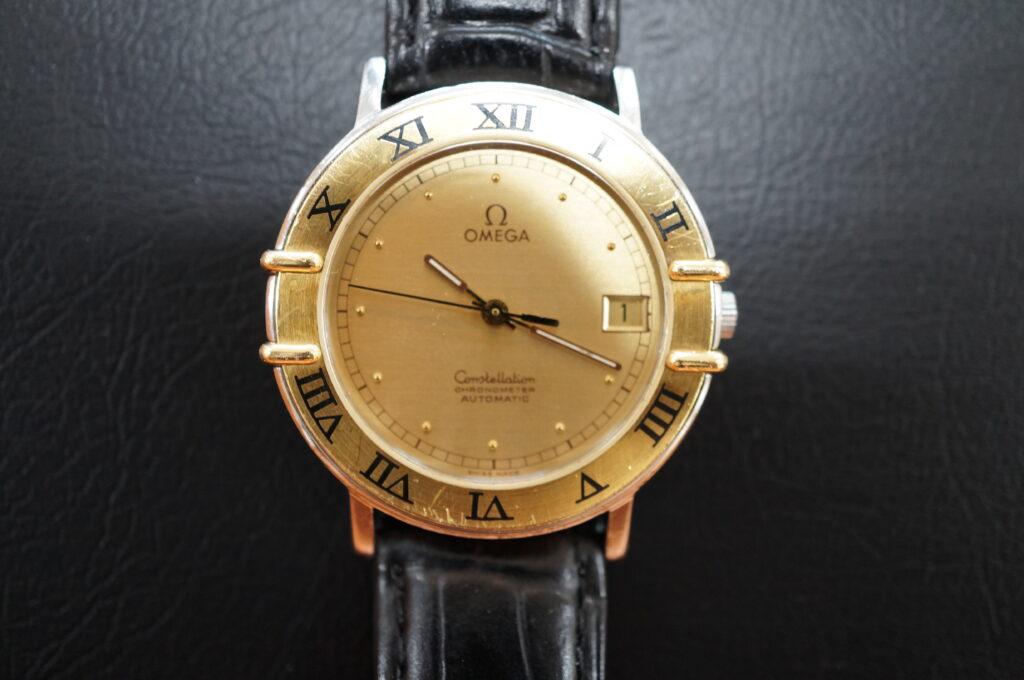 No.2773  OMEGA constellation (オメガ コンステーション) 自動巻式腕時計を修理しました