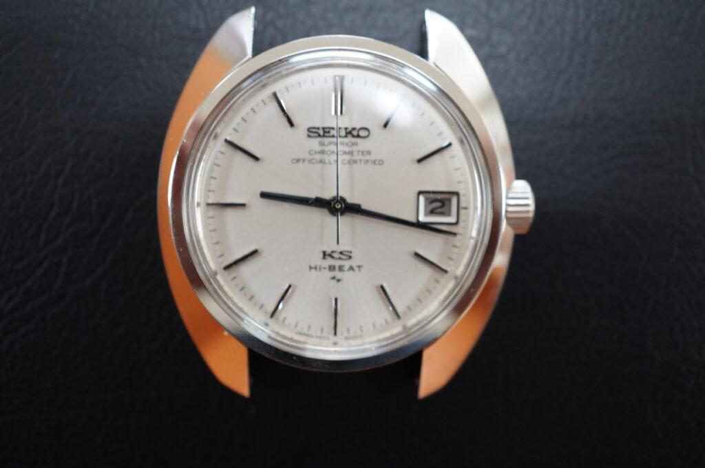 No.2772  SEIKO  KS 自動巻式腕時計を修理しました