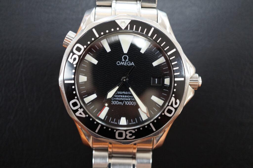 No.2759  OMEGA Seamaster (オメガシーマスター) 自動巻き 腕時計を修理しました