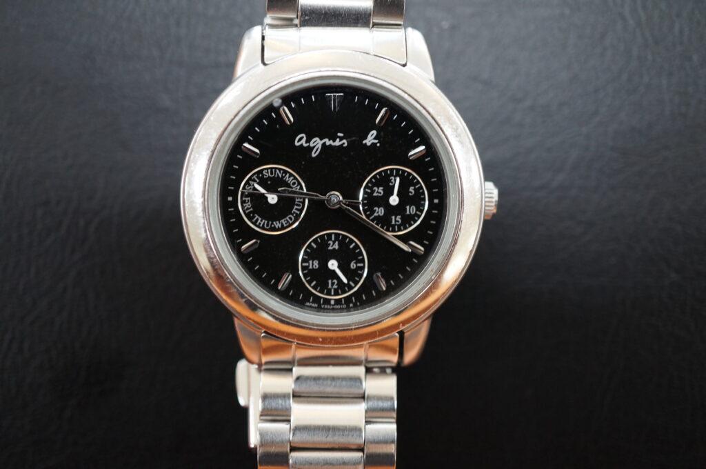 No.2770  アニエスベー クオーツ式 腕時計を修理しました