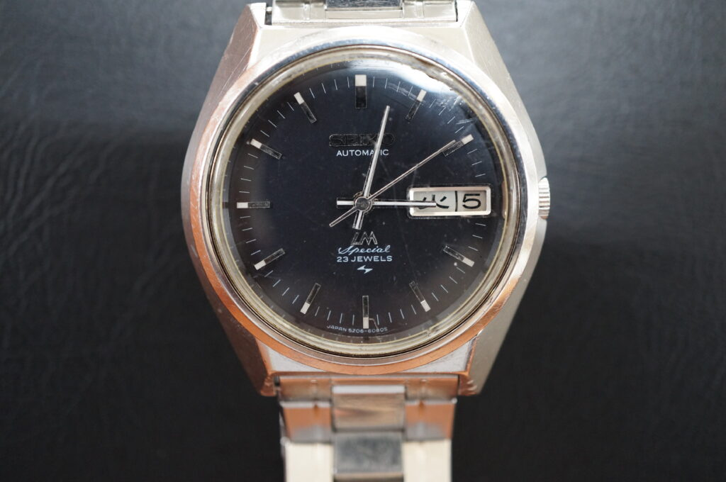 No.2779  SEIKO   自動巻式腕時計を修理しました
