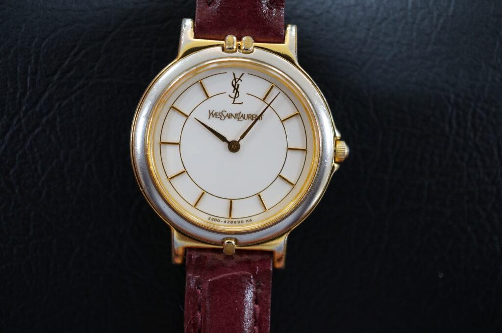 No.2778  YVESANLAURENT  (イブサンローラン ) クォーツ式 掛時計を修理しました