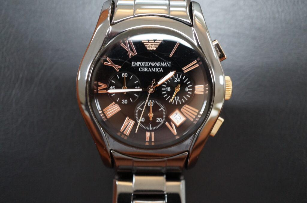 No.2790  EMPORIO ARMANI(アルマーニ) クオーツ式 腕時計を修理しました